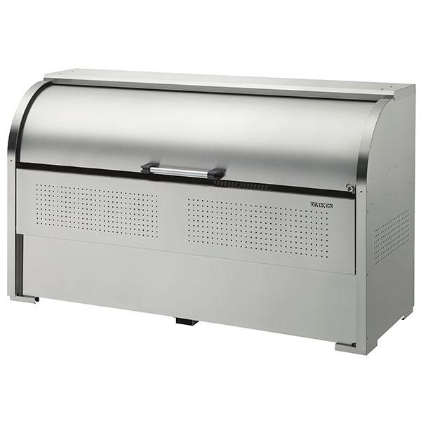 ゴミステーション 大型ゴミ箱 ダイケン ステンレス クリーンストッカーCKS型 CKS-1907 (旧CKS-1950型) [アパート/マンション/設置/屋外/カラス/対策/猫/大容量/ごみ/ゴミ箱]