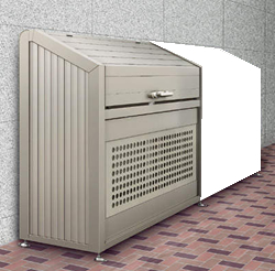ゴミステーション 大型ゴミ箱 LGPS-1214-07SC【連棟ユニットの為単体でのご使用不可】シコク ゴミストッカー PS型スリムタイプ連棟ユニット LGPS-1214-07SC [自治会/町内会/大容量/ゴミ箱], よろずやマルシェ:ae2e86c5 --- sunward.msk.ru