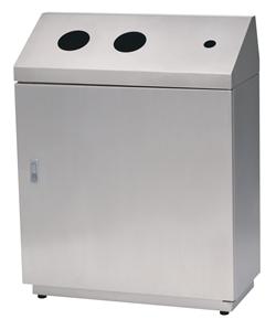 株ぶんぶく ペットボトル・キャップ分別回収ボックス OSE-Z-43