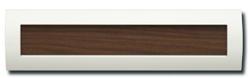 送料無料 コーワソニア 埋込ボックスタイプ 郵便ポスト ウッディー Rタイプ R915WES ラッチ錠 ホワイト×ウォールナット