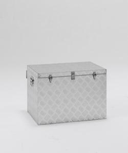 軽量で使いやすいアルミ製BOX 物置 小型物置 屋外収納ボックス 送料無料 お得セット アルインコ 付与 万能アルミボックス 121L 小型 庭 デザイン KSK 価格 屋外 BXA065 激安