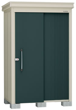 ダイケン物置ガーデンハウス DM-Z1309E-G 豪雪型・棚板なし 幅1408×奥行1017×高さ2120mm