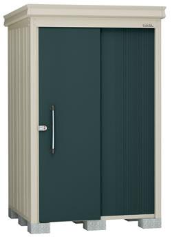 ダイケン物置ガーデンハウス DM-Z1313-G 豪雪型・棚板付 幅1408×奥行1417×高さ2120mm