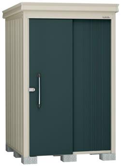 ダイケン物置ガーデンハウス DM-Z1315-G 豪雪型・棚板付 幅1408×奥行1617×高さ2120mm