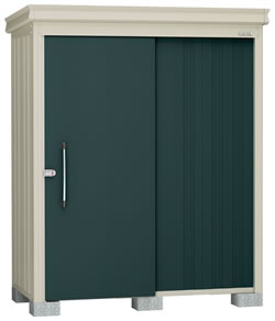 ダイケン物置ガーデンハウス DM-Z1709E-G 豪雪型・棚板なし 幅1808×奥行1017×高さ2120mm