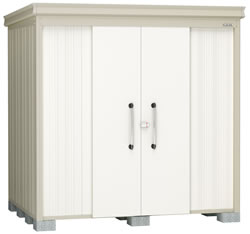 ダイケン物置ガーデンハウス DM-Z2117 一般型・棚板付 幅2208×奥行1817×高さ2120mm