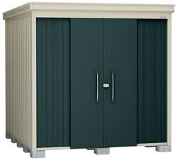 ダイケン物置ガーデンハウス DM-Z2125E-G 豪雪型・棚板なし 幅2208×奥行2617×高さ2120mm