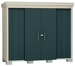ダイケン物置ガーデンハウス DM-Z2509E-G 豪雪型・棚板なし 幅2608×奥行1017×高さ2120mm