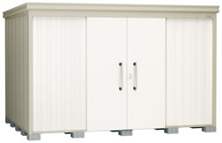 ダイケン物置ガーデンハウス DM-Z3325E 一般型・棚板なし 幅3408×奥行2617×高さ2120mm