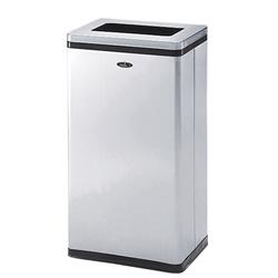 株ぶんぶく 分別ゴミ箱 リサイクルトラッシュ Bライン 一般用小型タイプ 一般ゴミ用 ステンレスヘアライン仕上  OSL-Z-24