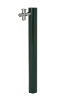 宝泉製作所 水栓柱 ウォーターポスト ダークグリーン 1口 325DG-1