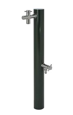 宝泉製作所 水栓柱 ウォーターポスト ダークグリーン 2口 325DG