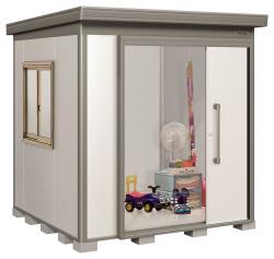 ヨドコウ ヨド物置 蔵MD 一般型スチール床タイプDZB-2222HE [収納庫/収納/屋外収納庫/屋外/倉庫/激安/安い/価格/小屋/ガーデニング/庭/よど/よど物置/ものおき/物置き]