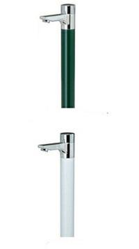 【送料無料】ニッコーエクステリア 立水栓ユニット リベルタ OPB-RS-36 ホワイト/ブリティッシュグリーン ※パンは別売り