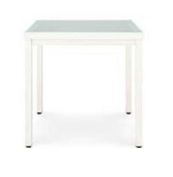 LIXILアルミ材ファニチャー レウーナテーブルA11 8MAA31JW+8MAA14GG 色:アイボリーホワイト+ガラス(グリーン) ※お客様組立品 【送料無料】