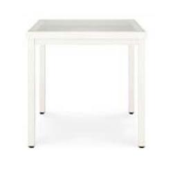 LIXILアルミ材ファニチャー レウーナテーブルA11 8MAA31JW+8MAA36CC 色:アイボリーホワイト+ガラス(クリアー) ※お客様組立品 【送料無料】