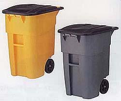 ゴミステーション 大型ゴミ箱 ラバーメイド ビッグホイールコンテナ RM9W27