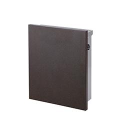 【送料無料】オンリーワン 郵便ポスト ルイユポスト・ノーマル 壁掛け 鉄錆色 T型カムロック錠 HS1-RP-R