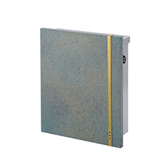 【送料無料】オンリーワン 郵便ポスト ルイユポスト・ライン 壁掛け 青銅色 T型カムロック錠 HS1-RP-SL