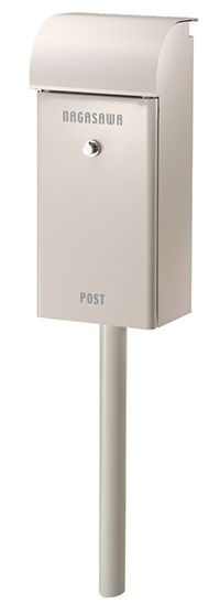 【送料無料】オンリーワン 郵便ポスト フィール ダイヤル錠 ホワイト NA1-FE02WH