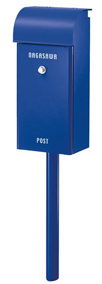 【送料無料】オンリーワン 郵便ポスト フィール ダイヤル錠  ロイヤルブルー NA1-FE02YB
