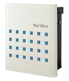 【送料無料】オンリーワン 郵便ポスト ファン ビッソ Type01 壁掛け(T型カムロック) ブルー NA1-FT01BL