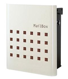 【送料無料】オンリーワン 郵便ポスト ファン ビッソ Type01 壁掛け(T型カムロック) ブラウン NA1-FT01BR