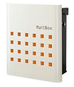 【送料無料】オンリーワン 郵便ポスト ファン ビッソ Type01 壁掛け(T型カムロック) シルキーオレンジ NA1-FT01SO