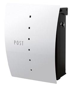 【送料無料】オンリーワン 郵便ポスト ファン セイル Type02 壁掛け(T型カムロック) シルバー NA1-FT02SI
