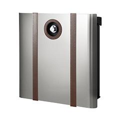 【送料無料】オンリーワン 郵便ポスト ウ゛ァリオネオ ボルサ  壁掛(ダイヤル錠) 大型配達物対応 シルバー NA1-OAO12SI