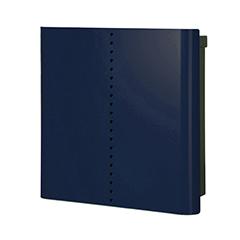 【送料無料】オンリーワン 郵便ポスト ウ゛ァリオネオ ミュート 壁掛(鍵無) ナイトブルー NA1-ON18NB