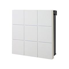 【送料無料】オンリーワン 郵便ポスト ウ゛ァリオネオ グリッド 壁掛(錠無し) フロストホワイト NA1-ON20FW