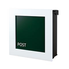 【送料無料】オンリーワン 郵便ポスト ウ゛ァリオネオ キルカス 壁掛け フォレストグリーン 鍵無し NA1-ONK11FG