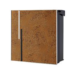 【送料無料】オンリーワン 郵便ポスト ヴァリオネオ アクシデント 壁掛(鍵無し) 斑紋茶褐 NA1-ONO01CH