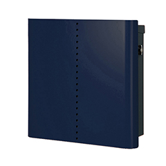 【送料無料】オンリーワン 郵便ポスト ヴァリオネオ ミュート 壁掛(T型カムロック錠) 大型配達物対応 ナイトブルー NA1-OT18NB