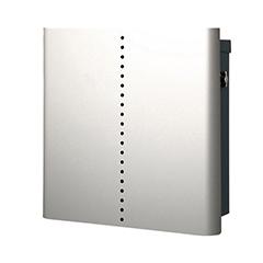【送料無料】オンリーワン 郵便ポスト ヴァリオネオ ミュート 壁掛(T型カムロック錠) 大型配達物対応 シルバー NA1-OT18SI