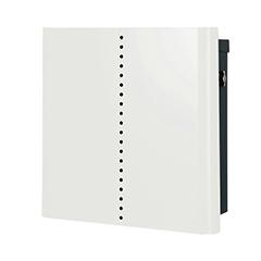 【送料無料】オンリーワン 郵便ポスト ヴァリオネオ ミュート 壁掛(T型カムロック錠) 大型配達物対応 ホワイト NA1-OT18WH