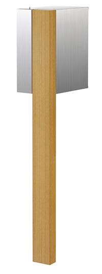 【送料無料】オンリーワン 郵便ポスト グレイン Type01 オーク ダイヤル錠 大型配達物対応 NA1-PS01OC