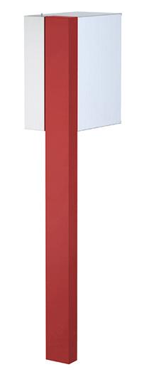 【送料無料】オンリーワン 郵便ポスト ポスタ Type01 レッド ダイヤル錠 大型配達物対応 NA1-PS01RE