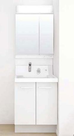 【送料無料】LIXIL リクシル INAX K1N4-605SY+MK1X3-602TXSU 洗面化粧台セット K1シリーズ 両開き戸タイプ 間口600mm 2面鏡全収納タイプ