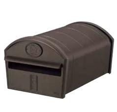 【3セット】LIXIL郵便ポスト リクシル エクスポスト アメリカンタイプ W-1型 前入れ前取出し オータムブラウンVRK42 ZZF