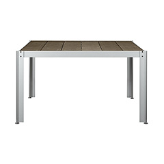 ガーデンファニチャー クッキンガーデン テーブル T1212 W1290 D1290 H720 ※お客様組立【送料無料】