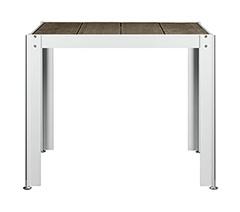 ガーデンファニチャー クレスコ クッキンガーデン テーブル T8080 W880 D809 H720 ※お客様組立【送料無料】