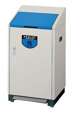 【送料無料】リサイクルボックス RB-K500 足踏式 ブルー YW-80L-ID-BL