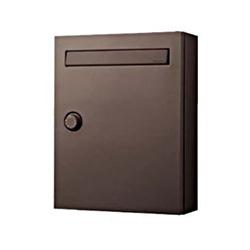 パナソニック サインポスト CLEAS(クリアス) FF(戸建・集合住宅兼用) CTCR2502MA エイジングブラウン色 ダイヤル錠 前入れ前取り出し KSK