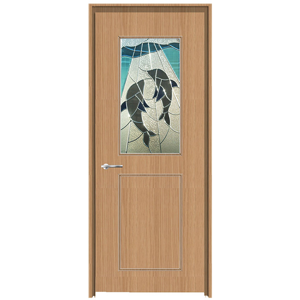 早割クーポン! 【Sale!】セブンホーム SEL SHD-22:環境生活 ピュア・ステンドグラス+枠付きドア-木材・建築資材・設備