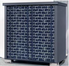 タカヤマ物置 ディープシリーズ TJS-1515HB-B 幅1550×奥行820×高さ1500mm 扉ブロック柄 ブルー お客様組立