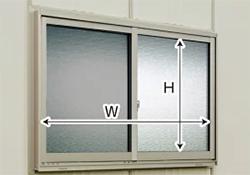 タクボガレージ オプション 窓サッシ(網戸付)SM・CM型用 M-S2020A (本体同時発注価格)