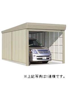 送料無料 タクボ ガレージ カールフォーマ 巻き上げシャッター扉 通常型 CL-6260 2連棟 幅6208×奥行6240×高さ3250mm:環境生活-エクステリア・ガーデンファニチャー