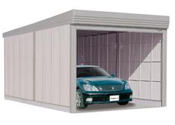 タクボ ガレージ ベルフォーマ オーバースライド扉 多雪用標準型 SL-S3465 幅3474×奥行6756×高さ3250mm